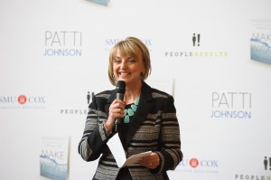 "Patti Johnson Speaking at the Launch of ""Make Waves"""